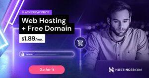 Hostinger Black Friday sales in Hindi 2020| up to 90% off web hosting plans